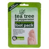 Xpel Tea Tree Tea Tree & Peppermint Deep Moisturising Foot Pack Крем за крака за жени 1 бр