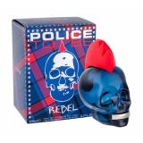 Police To Be Rebel Eau de Toilette за мъже