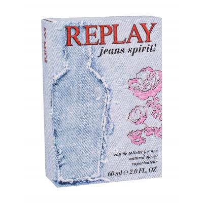 Replay Jeans Spirit! For Her Eau de Toilette за жени