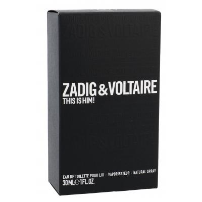 Zadig & Voltaire This is Him! Eau de Toilette за мъже 30 ml