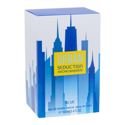 Antonio Banderas Urban Seduction Blue Eau de Toilette за мъже 100 ml