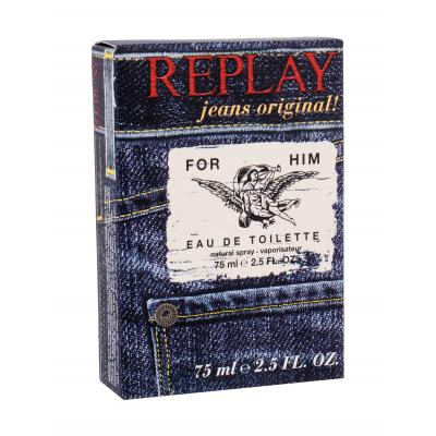 Replay Jeans Original! For Him Eau de Toilette за мъже