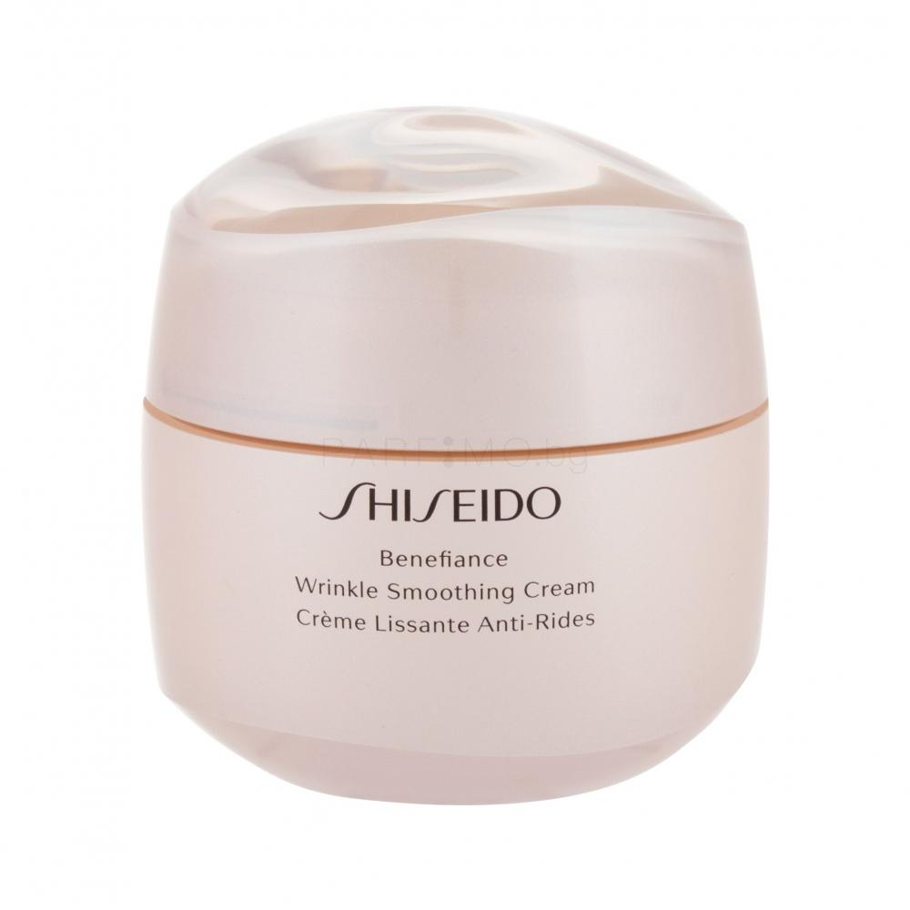 Shiseido Benefiance Wrinkle Smoothing Cream Дневни кремове..