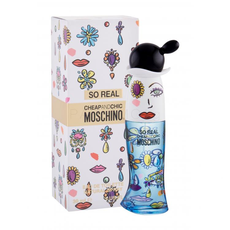Moschino So Real Cheap and Chic Eau de Toilette за жени 30 ml