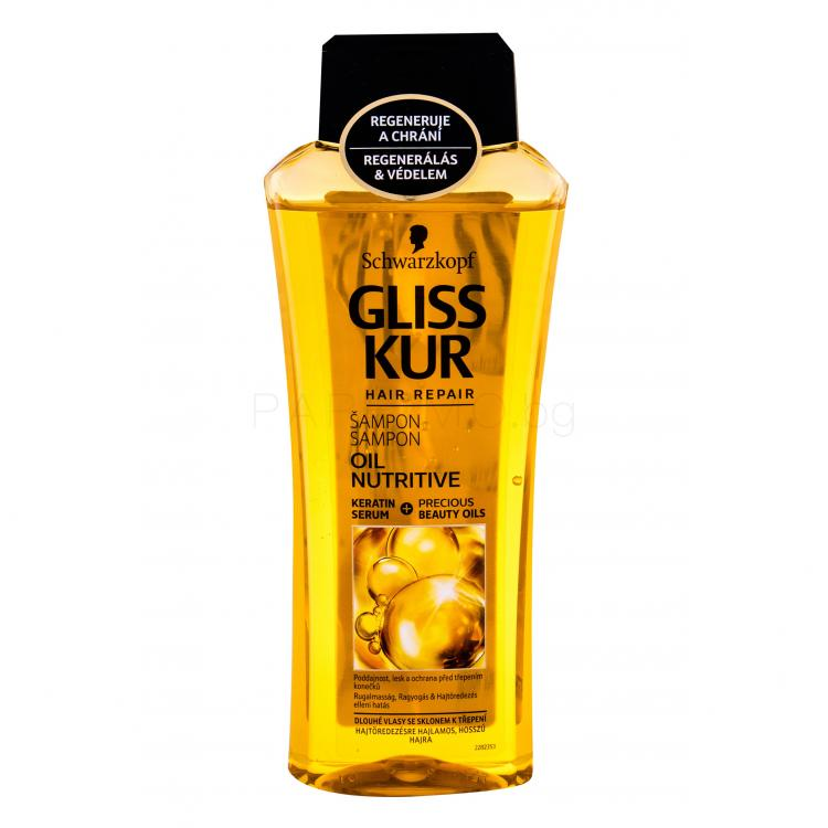 Schwarzkopf Gliss Kur Oil Nutritive Шампоан за жени 400 ml