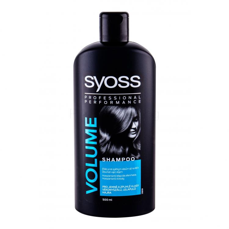 Syoss Professional Performance Volume Шампоан за жени 500 ml