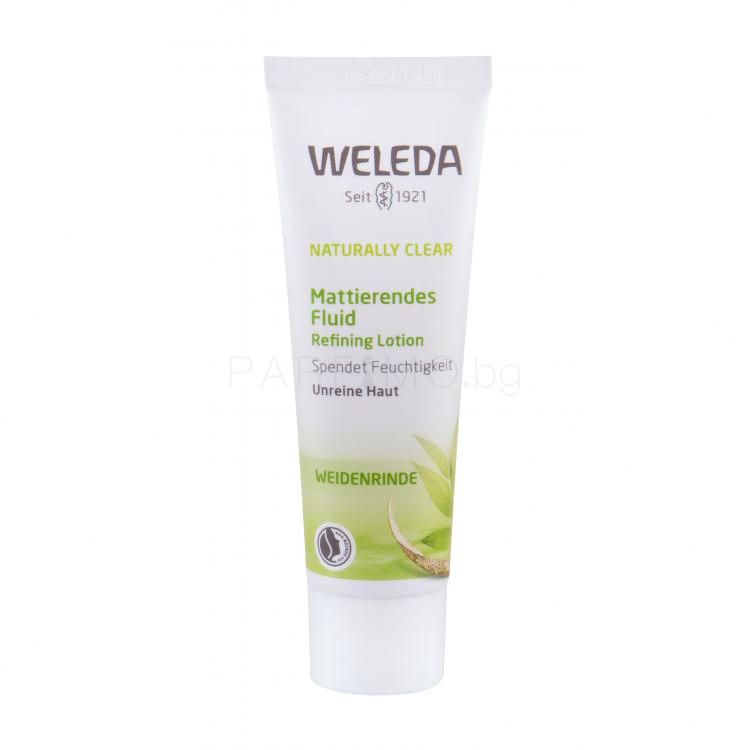 Weleda Naturally Clear Refining Гел за лице за жени 30 ml