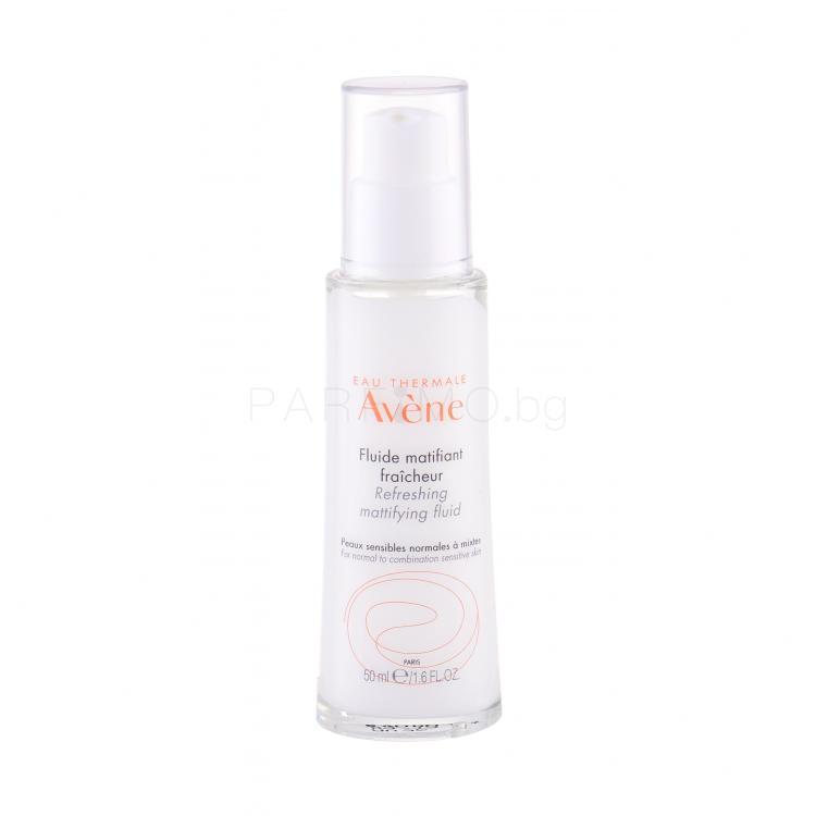 Avene Sensitive Skin Refreshing Mattifying Fluid Гел за лице за жени 50 ml