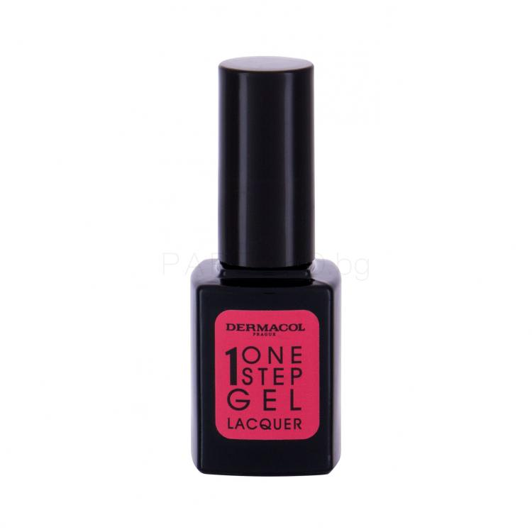 Dermacol One Step Gel Lacquer Лак за нокти за жени 11 ml Нюанс 04 Valentine