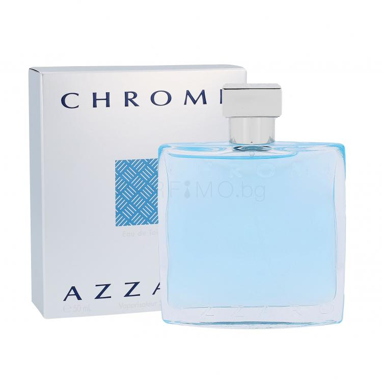 Azzaro Chrome Eau de Toilette за мъже 50 ml