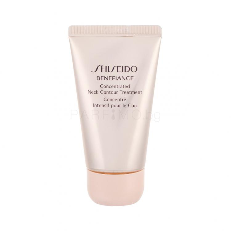 Shiseido Benefiance Concentrated Neck Contour Treatment Крем за шия и деколте за жени 50 ml