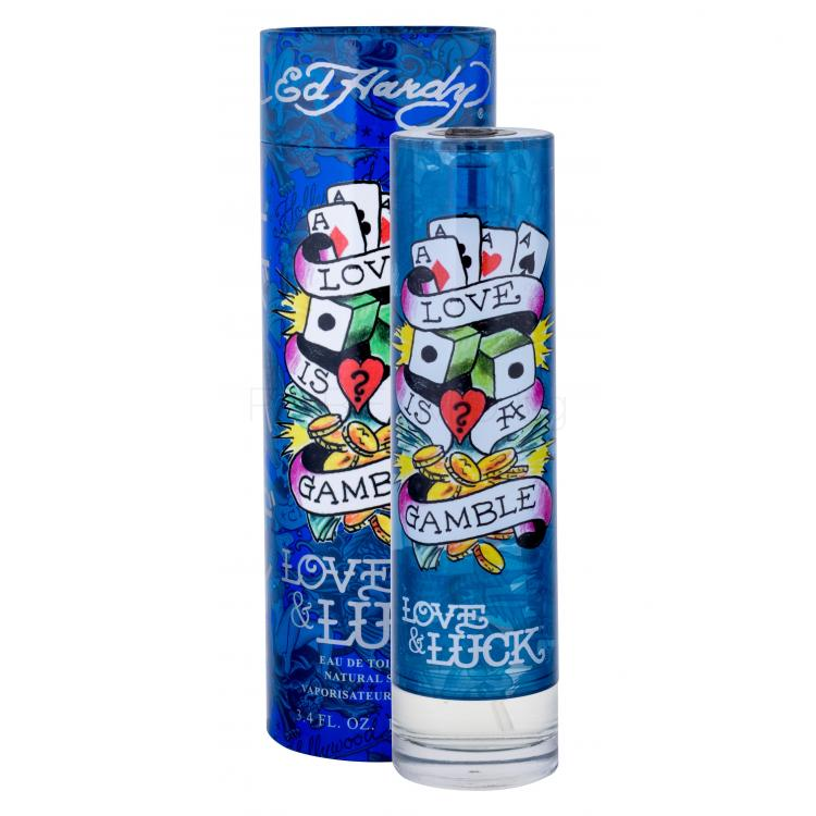Christian Audigier Ed Hardy Love & Luck Eau de Toilette за мъже