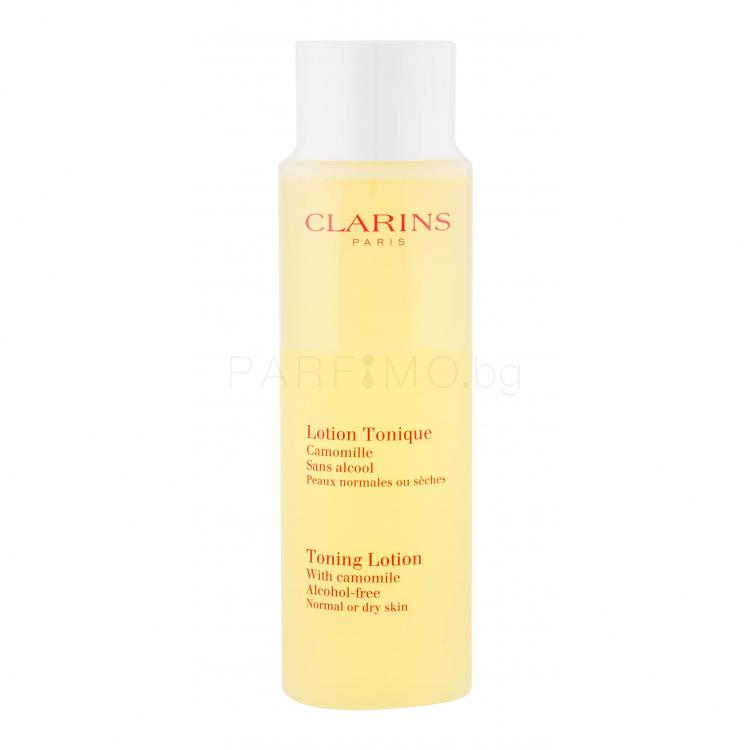 Clarins Toning Lotion With Camomile Почистващи води за жени