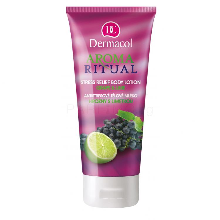 Dermacol Aroma Ritual Grape & Lime Лосион за тяло за жени 200 ml