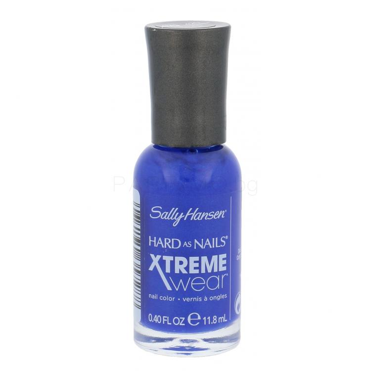 Sally Hansen Hard As Nails Xtreme Wear Лак за нокти за жени 11,8 ml Нюанс 420 Pacific Blue