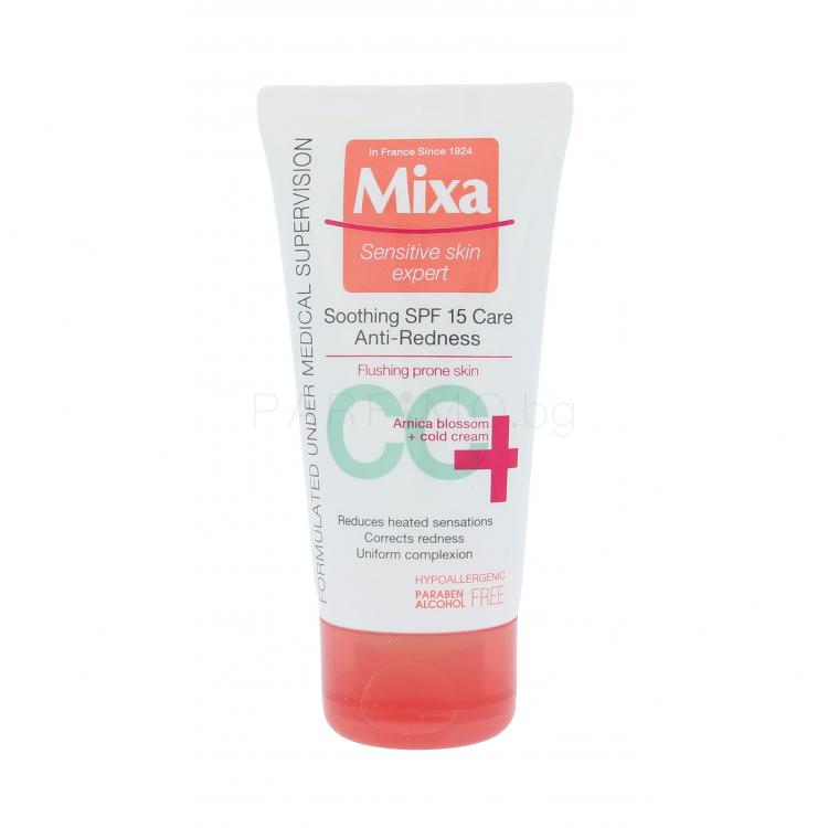 Mixa Anti-Redness SPF15 CC крем за жени 50 ml