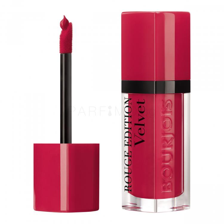 BOURJOIS Paris Rouge Edition Velvet Червило за жени 7,7 ml Нюанс 02 Frambourjoise