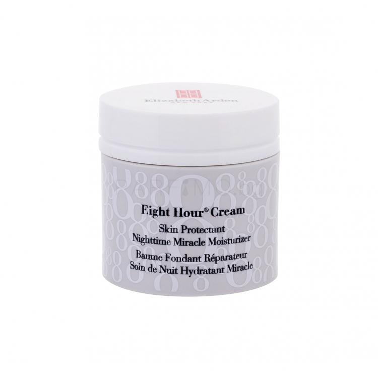 Elizabeth Arden Eight Hour Cream Nighttime Miracle Moisturizer Нощен крем за лице за жени 50 ml
