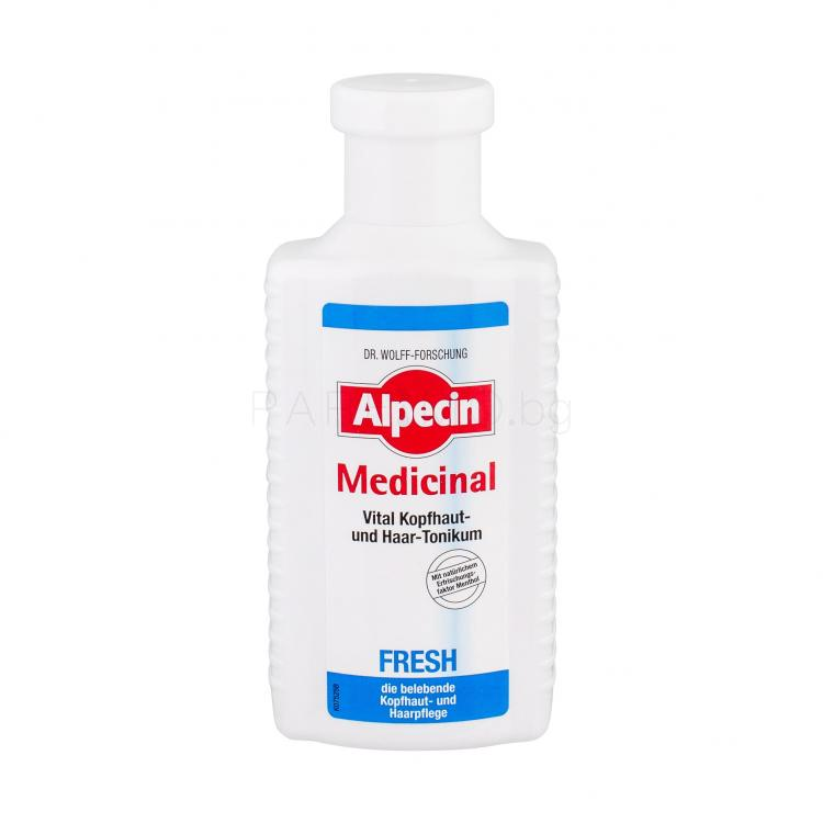 Alpecin Medicinal Fresh Scalp And Hair Tonic Серум за коса 200 ml