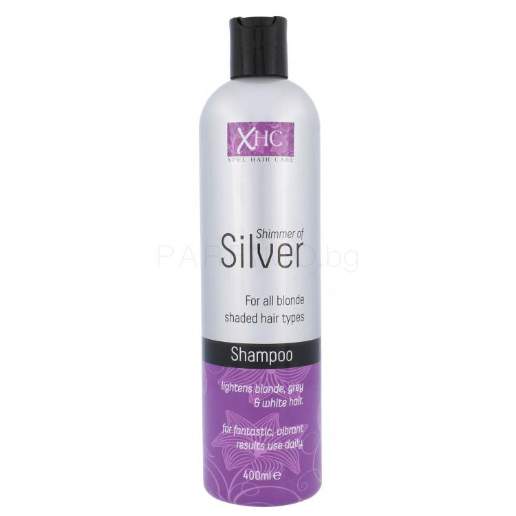 Xpel Shimmer Of Silver Шампоан за жени 400 ml