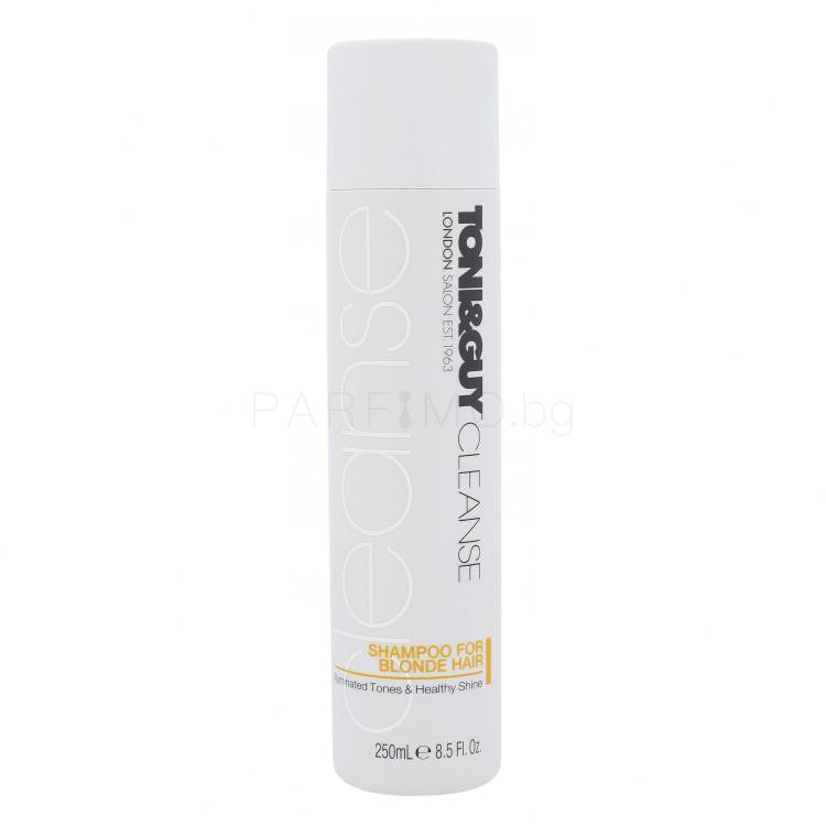TONI&GUY Cleanse Blonde Hair Шампоан за жени 250 ml