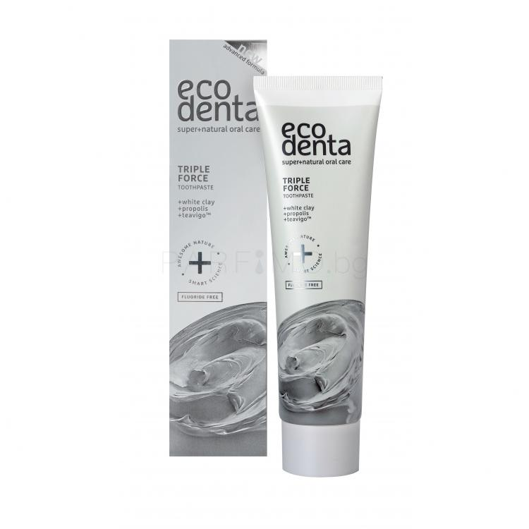 Ecodenta Toothpaste Triple Effect Паста за зъби 100 ml