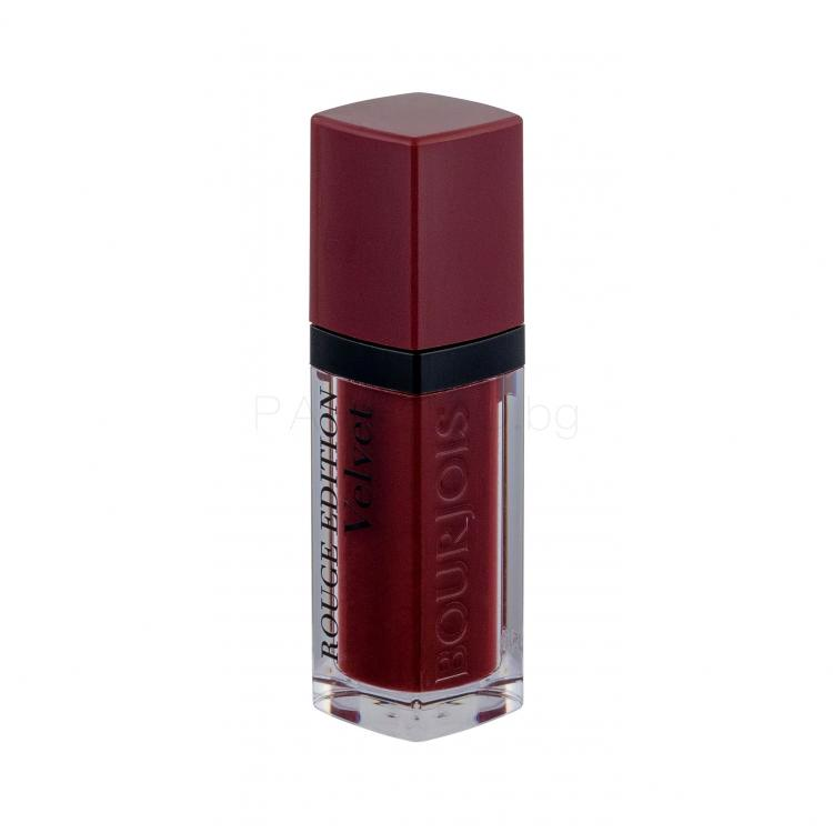 BOURJOIS Paris Rouge Edition Velvet Червило за жени 7,7 ml Нюанс 19 Jolie-De-Vin