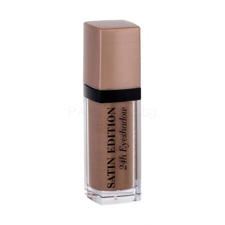 BOURJOIS Paris Satin Edition Сенки за очи за жени 8 ml Нюанс 04 Abracada´brown