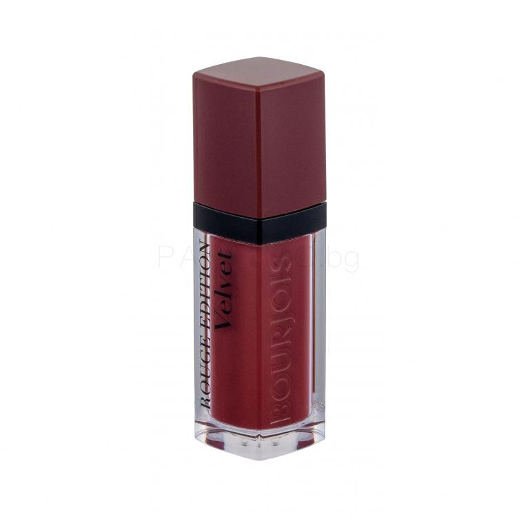 BOURJOIS Paris Rouge Edition Velvet Червило за жени 7,7 ml Нюанс 24 Dark Chérie