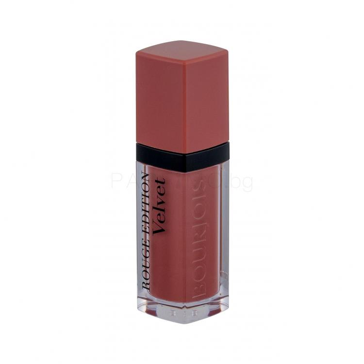 BOURJOIS Paris Rouge Edition Velvet Червило за жени 7,7 ml Нюанс 29 Nude York
