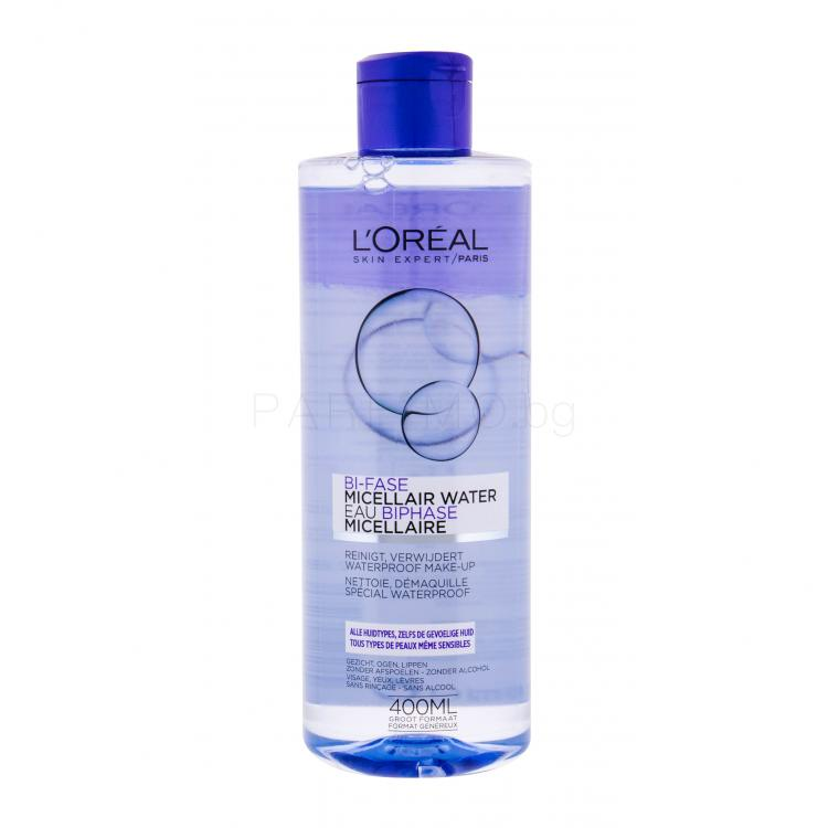 L´Oréal Paris Micellar Water Bi-Phase Мицеларна вода за жени 400 ml