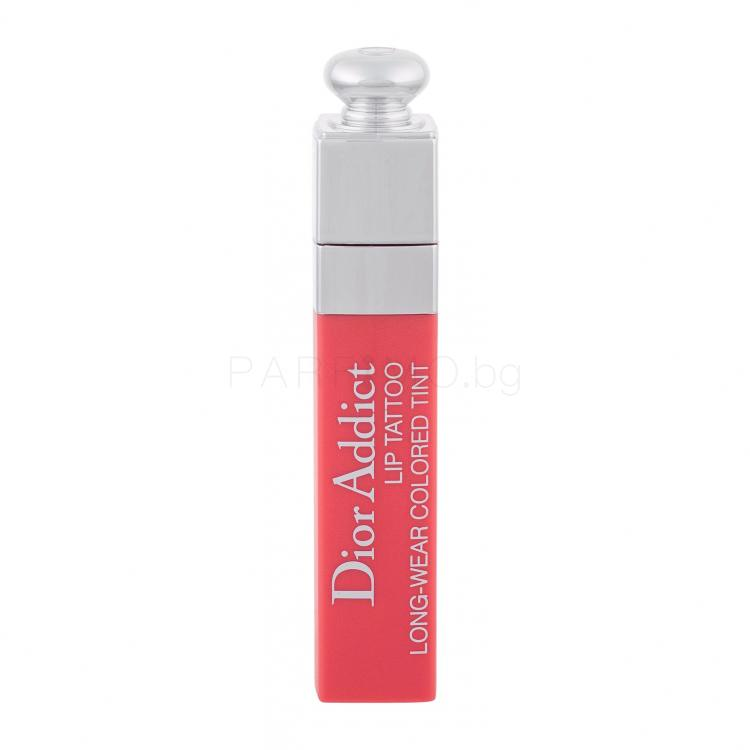 Christian Dior Dior Addict Lip Tatoo Червило за жени 6 ml Нюанс 251 Natural Peach