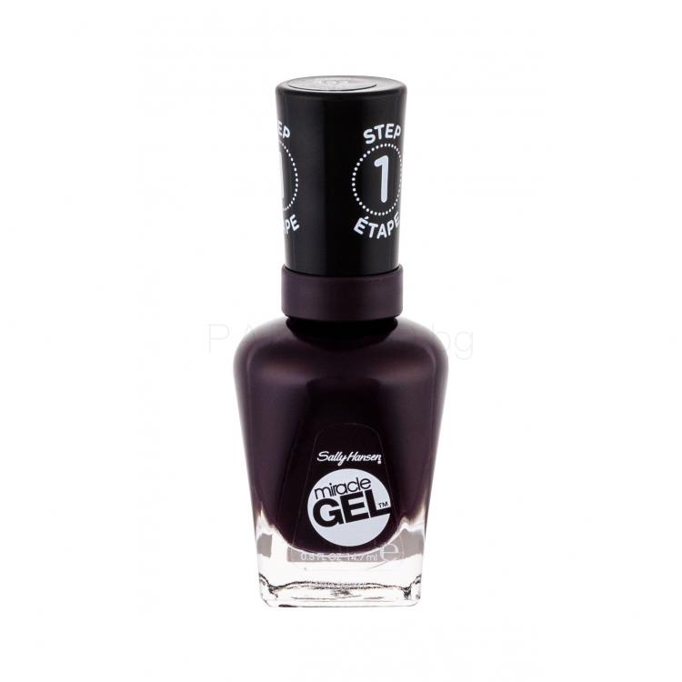 Sally Hansen Miracle Gel STEP1 Лак за нокти за жени 14,7 ml Нюанс 492 Cabernet With Bae