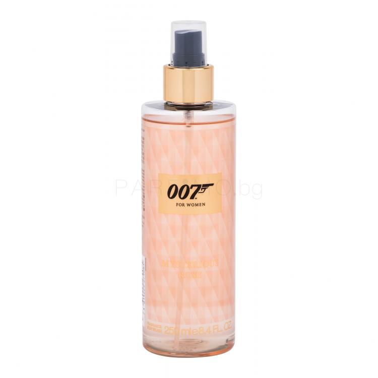 James Bond 007 James Bond 007 For Women Mysterious Rose Спрей за тяло за жени 250 ml