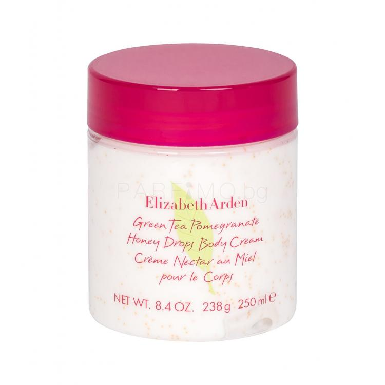 Elizabeth Arden Green Tea Pomegranate Honey Drops Крем за тяло за жени 250 ml