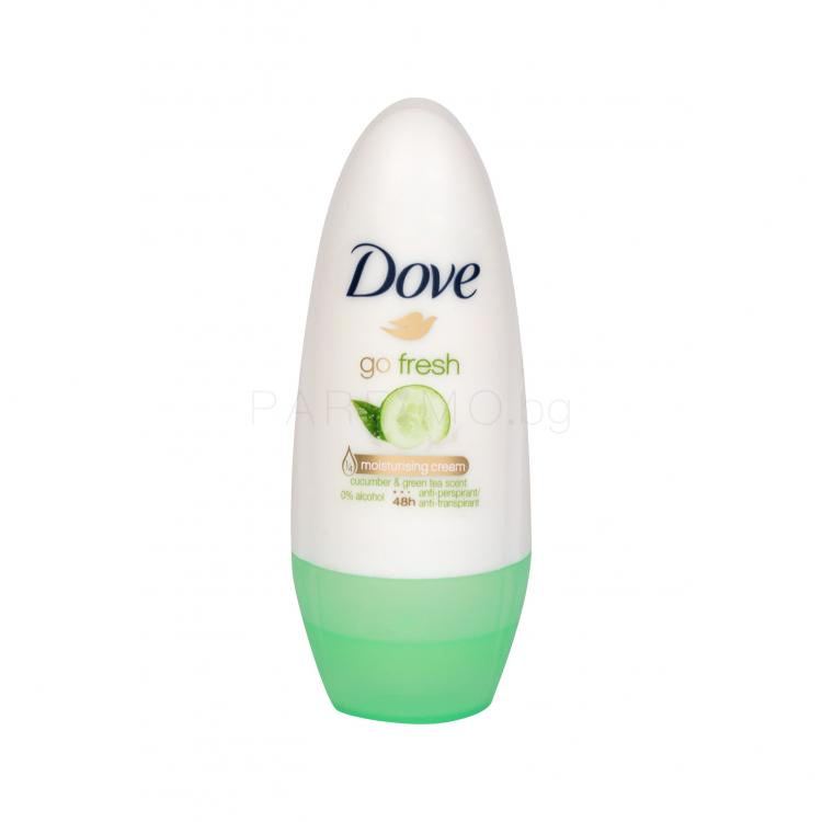 Dove Go Fresh Cucumber & Green Tea 48h Антиперспирант за жени 50 ml