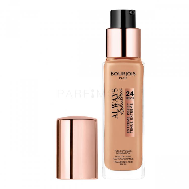 BOURJOIS Paris Always Fabulous 24H SPF20 Грим за жени 30 ml Нюанс 400 Rose Beige