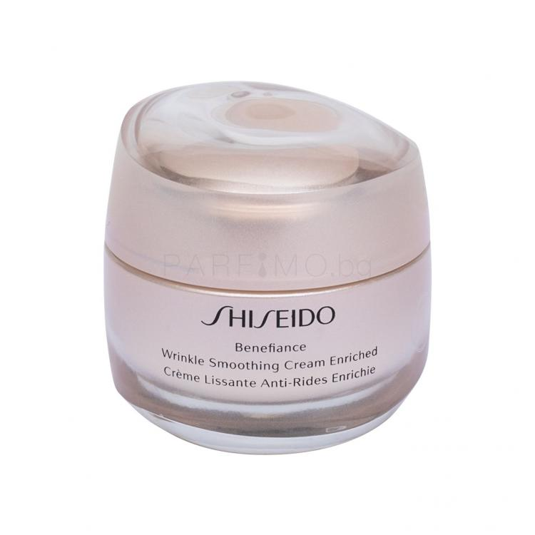 Shiseido Benefiance Wrinkle Smoothing Cream Enriched Дневен крем за лице за жени 50 ml ТЕСТЕР