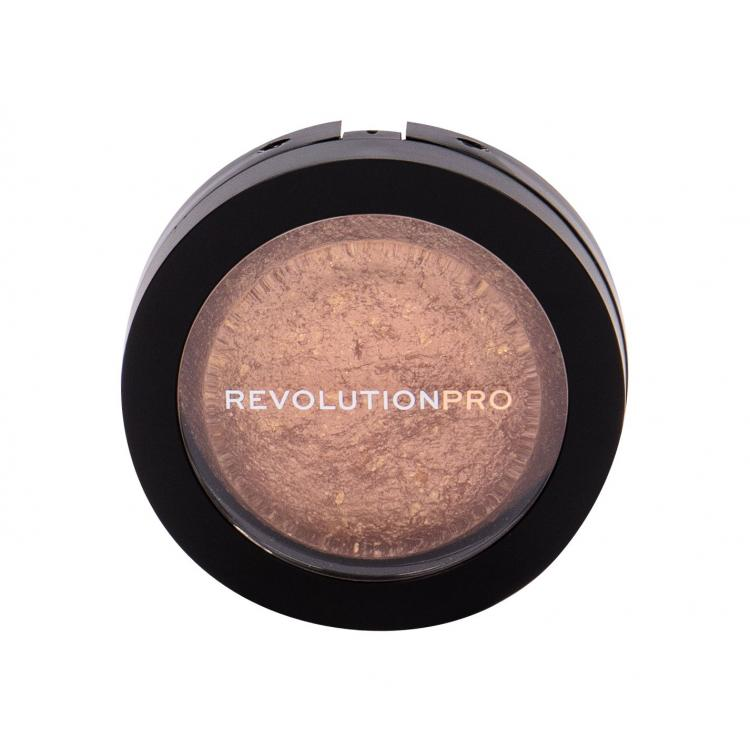 Makeup Revolution London Revolution PRO Skin Finish Хайлайтър за жени 11 гр Нюанс Golden Glare