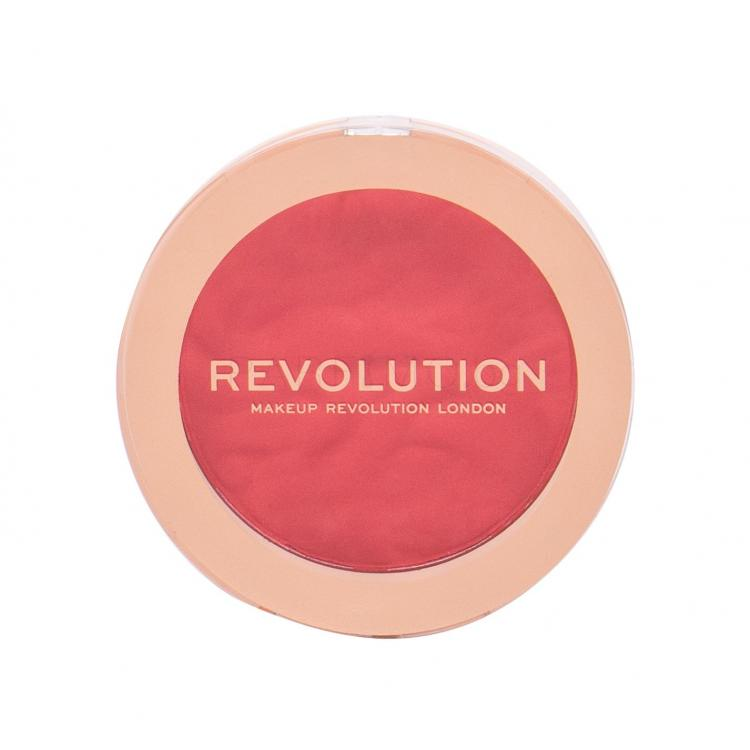 Makeup Revolution London Re-loaded Руж за жени 7,5 гр Нюанс Pop My Cherry