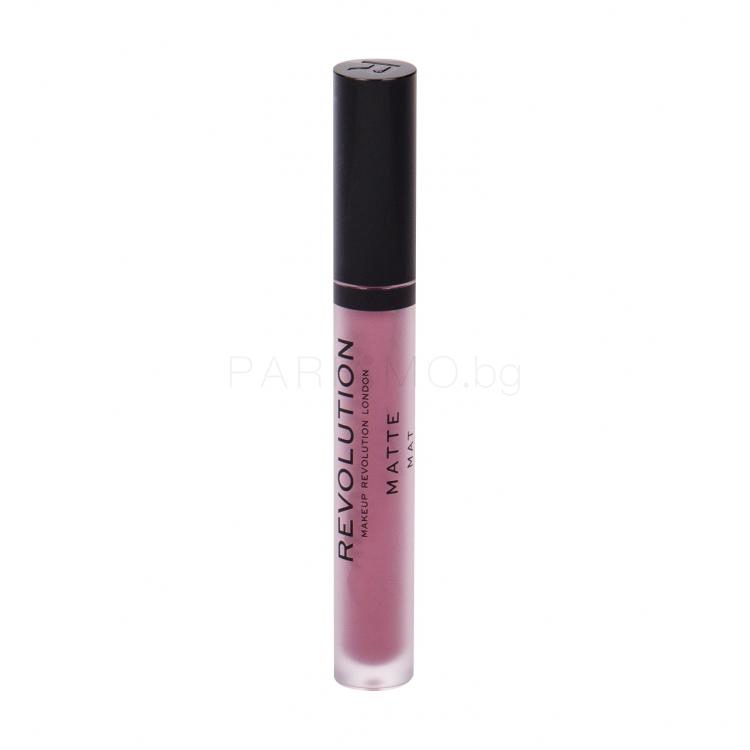 Makeup Revolution London Matte Червило за жени 3 ml Нюанс 117 Bouquet